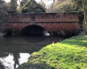 River Swarburn and bridge